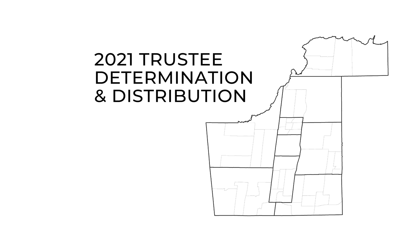 graphic representation of the trustee electoral map